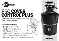 InSinkErator Cover Control Plus Evolution Series