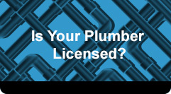 Is Your Plumber Licensed?