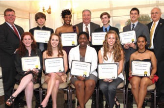 2011 Plumbing Industry Promotion Fund Scholarship Award Winners