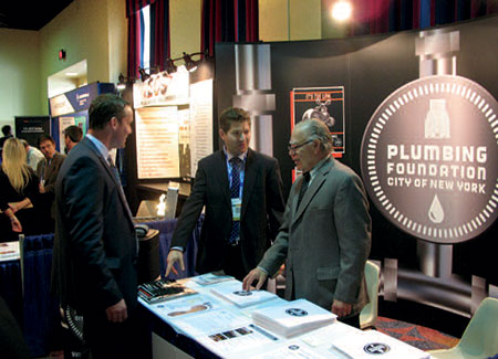 (Deputy Director Terence O'Brien and Ken Klein P.E. at the 2012 Cooperator's Construction Expo.)
