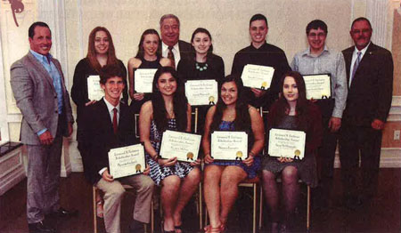 2015 Leonard X. Farbman Scholarship Fund Recipients