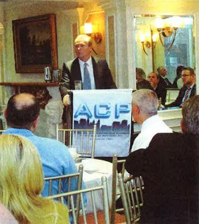 NYC DOB Commissioner Rick Chandler addresses Plumbing Association