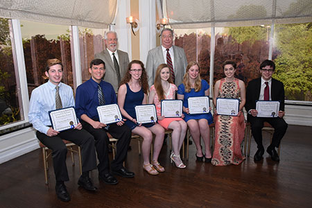 2016 Plumbing Industry Promotion Fund Scholarship Award Winners