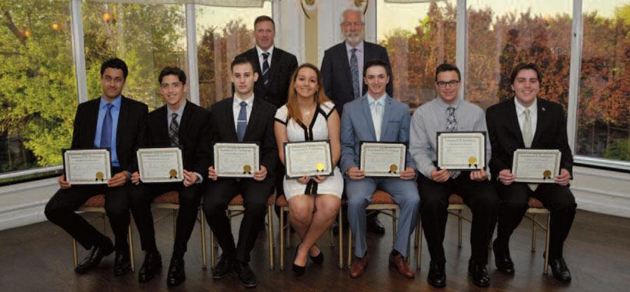 2017 Leonard X. Farbman Scholarship Award winners