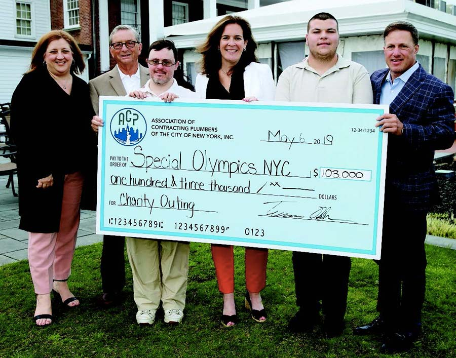 Association of Contracting Plumbers Raises $103,000 For Special Olympics