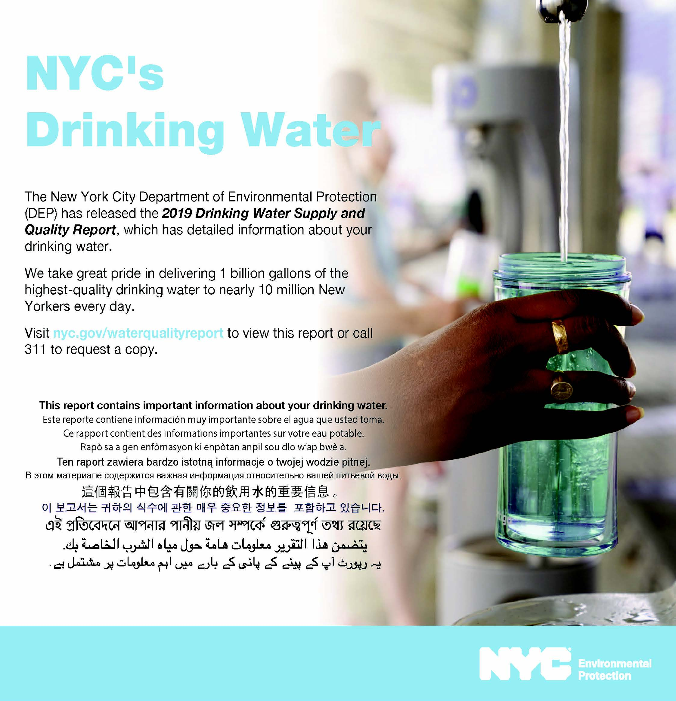 NYC's Drinking Water