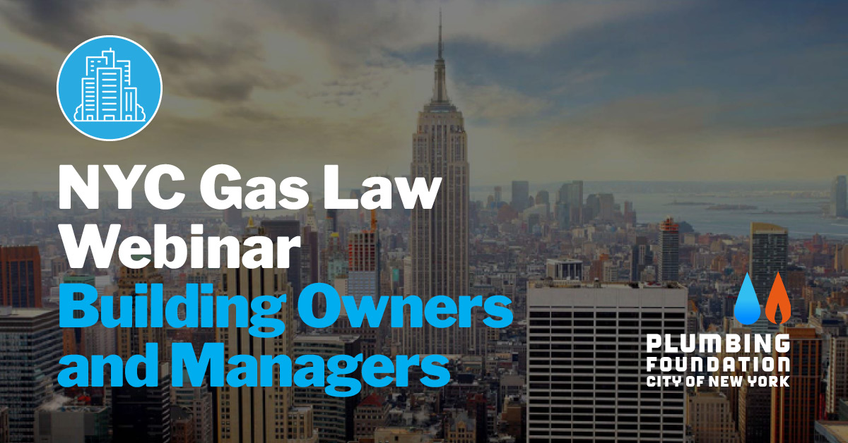 PFCNY NYC Gas Law Webinar Building Owners Managers