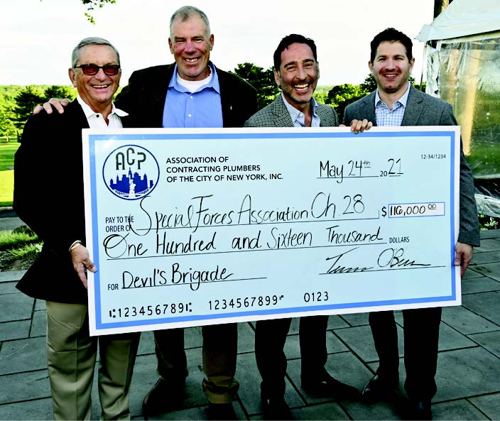 Association of Contracting Plumbers Donation